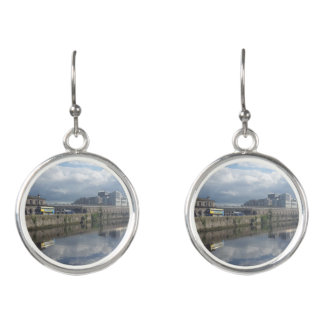 Dublinriverbank-Reflexions-Tropfen-Ohrringe Ohrringe