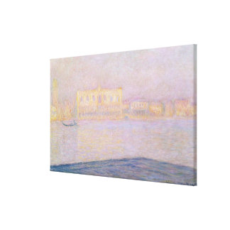 Ducal Palast Claude Monets | von San Giorgio, 1908 Leinwanddruck