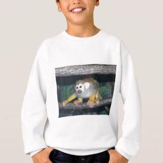 Duckender Eichhörnchen-Affe Sweatshirt