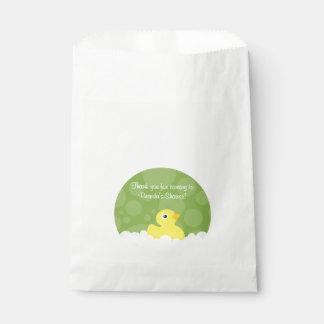 Ducky Bevorzugungs-Gummitasche - Grün Geschenktütchen