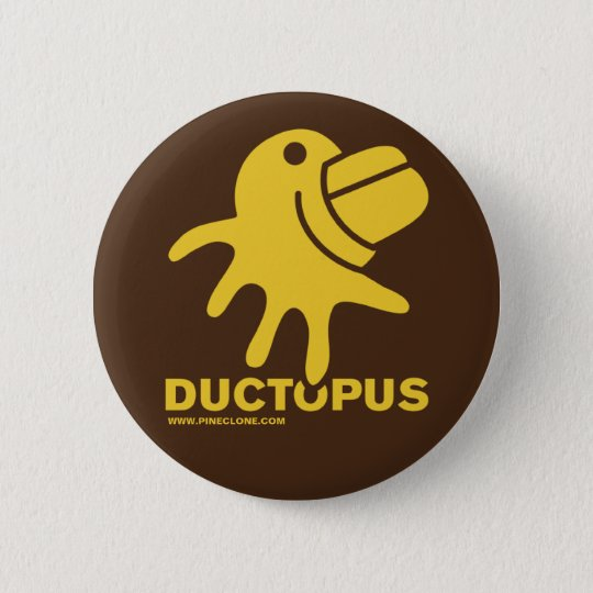 DUCTOPUS Knopf Runder Button 5,7 Cm