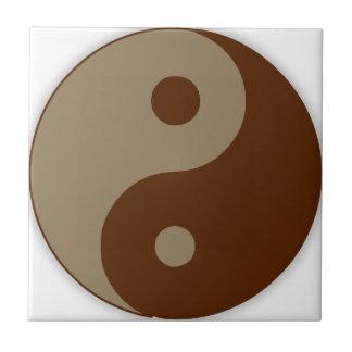 Dudeism Ying Yang Keramikfliese