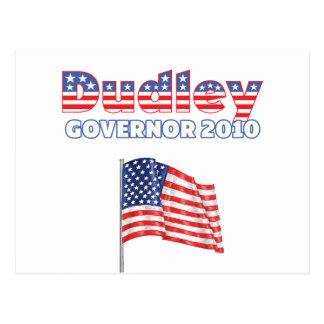 Dudley patriotische Wahlen Flagge-2010 Postkarten
