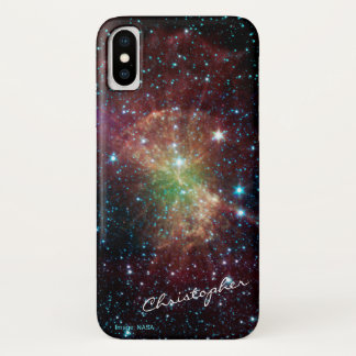Dumbbellnebelfleck-Nameastronomie iPhone X Hülle