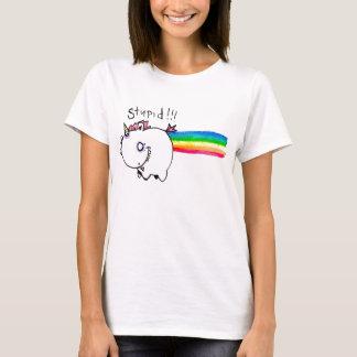 Dummes Einhorn mit Regenbogen durch EMS Boz T-Shirt