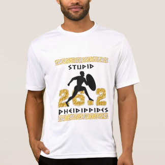 Dummes Pheidippides Marathon laufender Sport-Tek T-Shirt