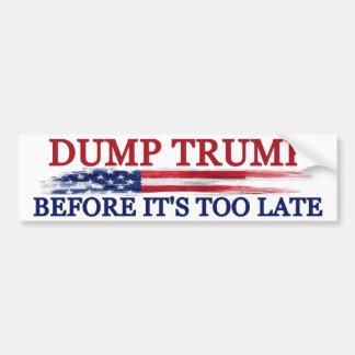 Dump-Trumpf Autoaufkleber