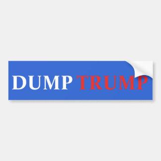 Dump-Trumpf-Autoaufkleber Autoaufkleber