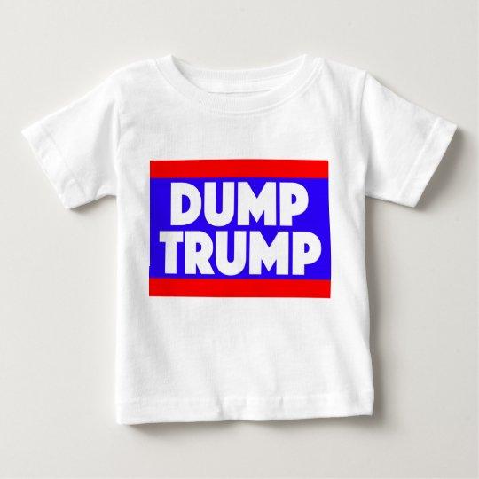 Dump-Trumpf-Baby-T-Stück Baby T-shirt
