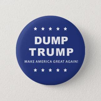 Dump-Trumpf-Knopf | klagen den Präsidenten Now an Runder Button 5,1 Cm
