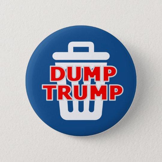 Dump-Trumpf Runder Button 5,1 Cm