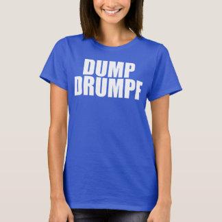 DUMPF DRUMPF (weiß für sie) T-Shirt