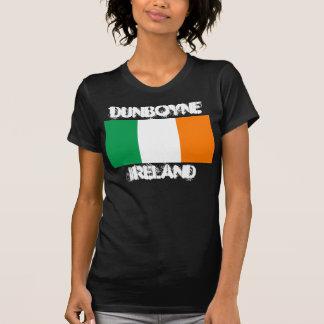 Dunboyne, Irland mit irischer Flagge T-Shirt