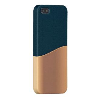 Dunkelblaues Kupfer iPhone 5 Schutzhülle