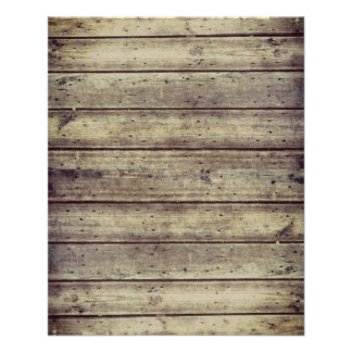 Dunkelheit Antiqued Planked hölzernes Flyer