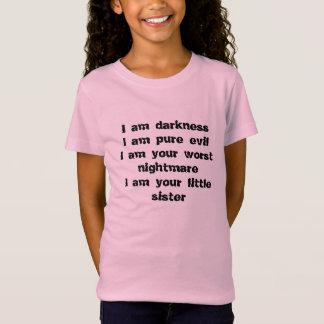 Dunkelheit, reines Übel, schlechtester Albtraum, T-Shirt