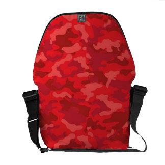 Dunkelrote Armee-MilitärCamouflage-Tarnungs-Muster Kuriertasche