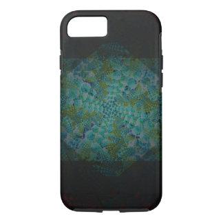 Dunkle abstrakte Fraktal-Digital-Kunst iPhone 8/7 Hülle