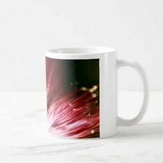 Dunkle BlumenTasse Kaffeetasse