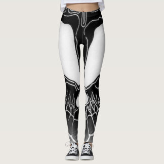 Dunkle Dame Leggings
