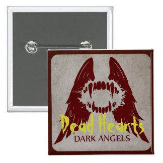 Dunkle Engel - tote Herz-Romane Quadratischer Button 5,1 Cm