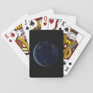 Dunkle Erdspielkarte Spielkarten