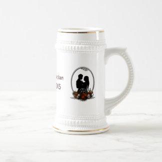 Dunkle GewerkschaftVampire Goth Hochzeit Kaffee Tassen