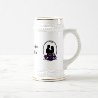 Dunkle GewerkschaftVampire Goth Hochzeit Tee Tasse