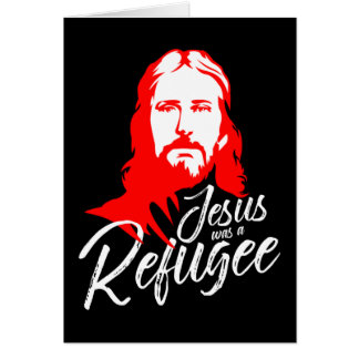 Dunkle Gruß-Karte Jesuss Grußkarte
