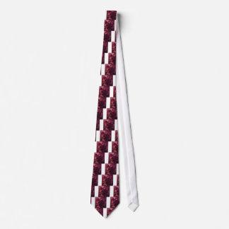 Dunkle Himbeerroter abstrakter niedriger Bedruckte Krawatten