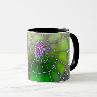 Dunkle Netz-Tasse Tasse