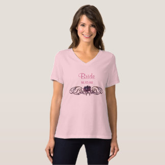 Dunkle Romance Braut T-Shirt