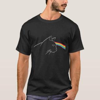 Dunkle Seite der Katze T-Shirt