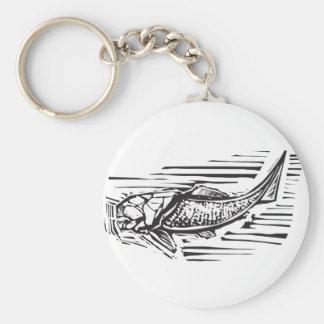Dunkleosteus Fossil-Fische Schlüsselanhänger