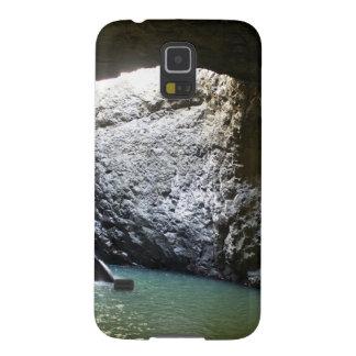 Dunkler Bogen-Wasserfall Samsung Galaxy S5 Hüllen