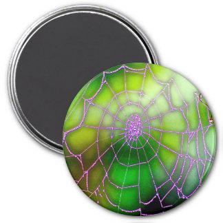 Dunkler Netz-Magnet Runder Magnet 7,6 Cm