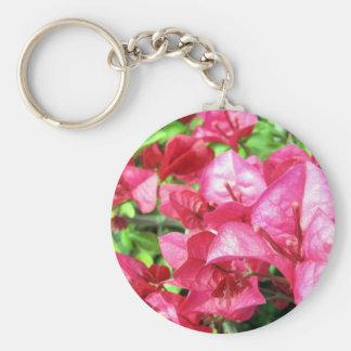 Dunkler Rhododendron in Kalifornien Standard Runder Schlüsselanhänger
