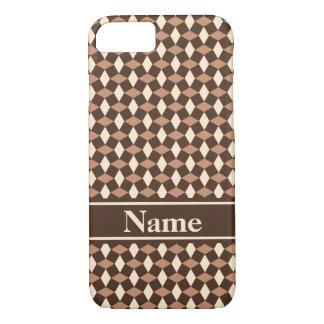 Dunkler Schokoladen-Profil-Telefon-Kasten iPhone 8/7 Hülle