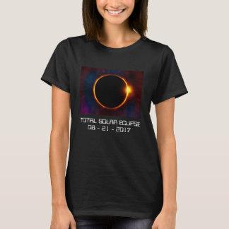 Dunkler T - Shirt der Solareklipse-2017