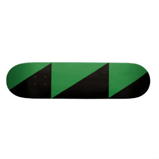 Dunkleres Grünes und schwarz, Kolumbien politisch Individuelles Skateboard