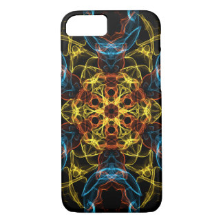 Dunkles abstraktes Kaleidoskop iPhone 8/7 Hülle