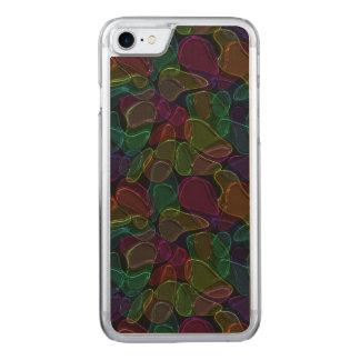 Dunkles Glas Carved iPhone 8/7 Hülle