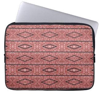 Dunkles Rosen-Gold 13' Laptop-Hülse Laptopschutzhülle