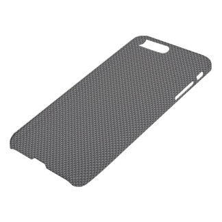 Dunkles Schwarz-und iPhone 8 Plus/7 Plus Hülle