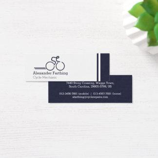 Dünne berufliche Zyklusgeschäftskarten Mini Visitenkarte