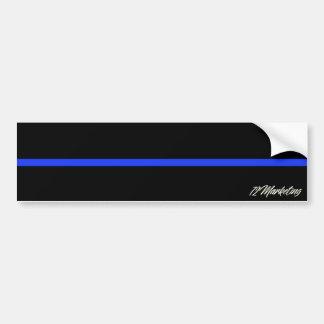 Dünne blaue Linie Autoaufkleber-Polizei-Offizier Autoaufkleber