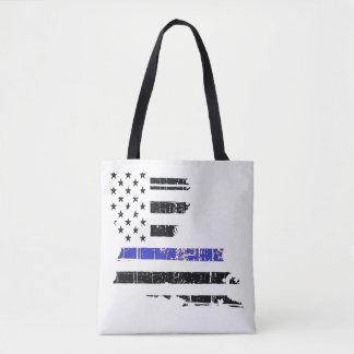 Dünne blaue Linie Tasche
