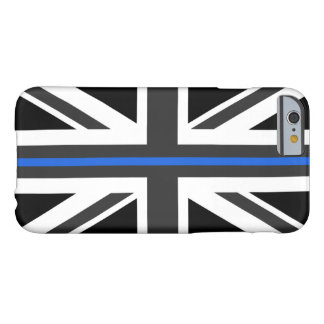 Dünne Flagge Blue Lines Großbritannien Barely There iPhone 6 Hülle