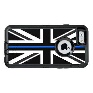 Dünne Flagge Blue Lines Großbritannien OtterBox iPhone 6/6s Hülle