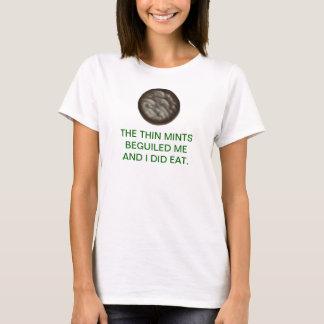 Dünne Minzen T-Shirt